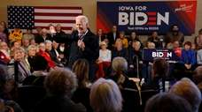 Former Vice President Joe Biden at a campaign