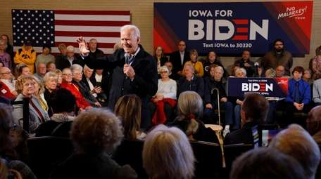 Former Vice President Joe Biden at a campaign