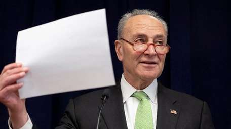 Sen. Chuck Schumer said federal paid family leave