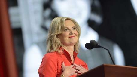 Ann, the wife of Republican presidential candidate Mitt