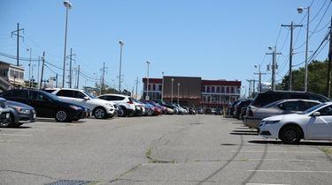 Several streets near the Westbury Long Island Rail