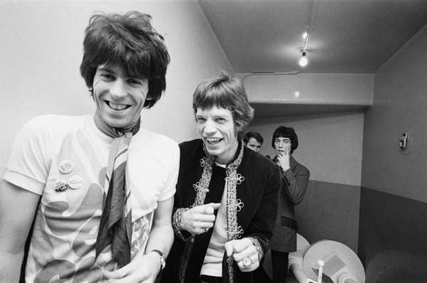The Rolling Stones at the London Palladium, January