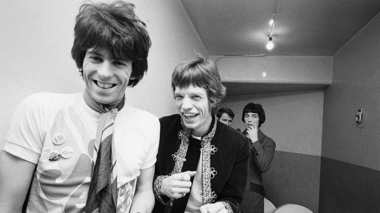 The Rolling Stones at the London Palladium, January