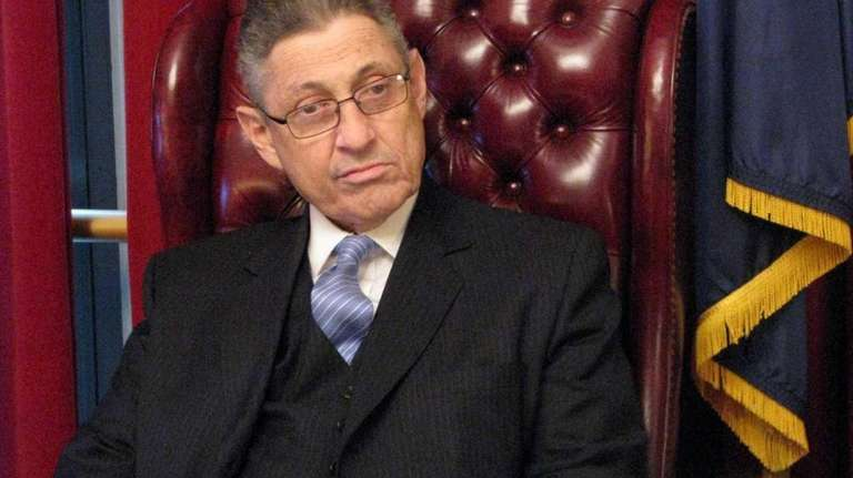 Assembly Speaker Sheldon Silver spoke to Newsday in