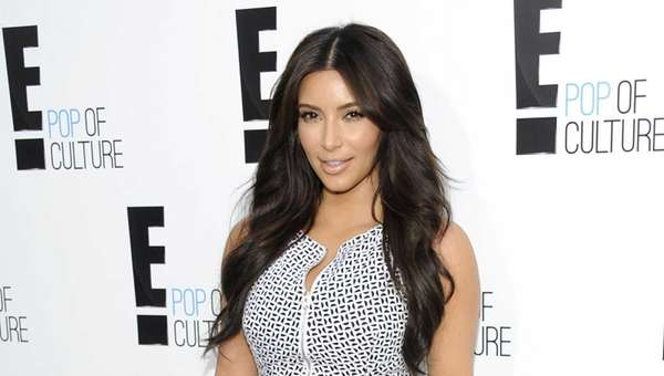 Kim Kardashian attends an E! Network event at