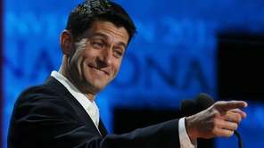 Republican vice presidential candidate, U.S. Rep. Paul Ryan