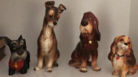 Vintage ceramics owned by Deborah Santaito Lovaglio.