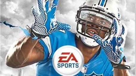 Detroit Lions' wide receiver Calvin Johnson graces the