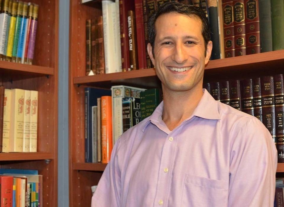Seth Adelson, 42, associate rabbi at Temple Israel
