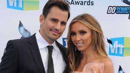 Bill and Giuliana Rancic attend the 2012 Do