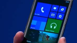 The Ativ S, a Windows 8 smartphone, is