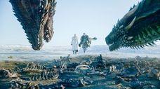 "Emilia Clarke and Kit Harington starred in ""Game"