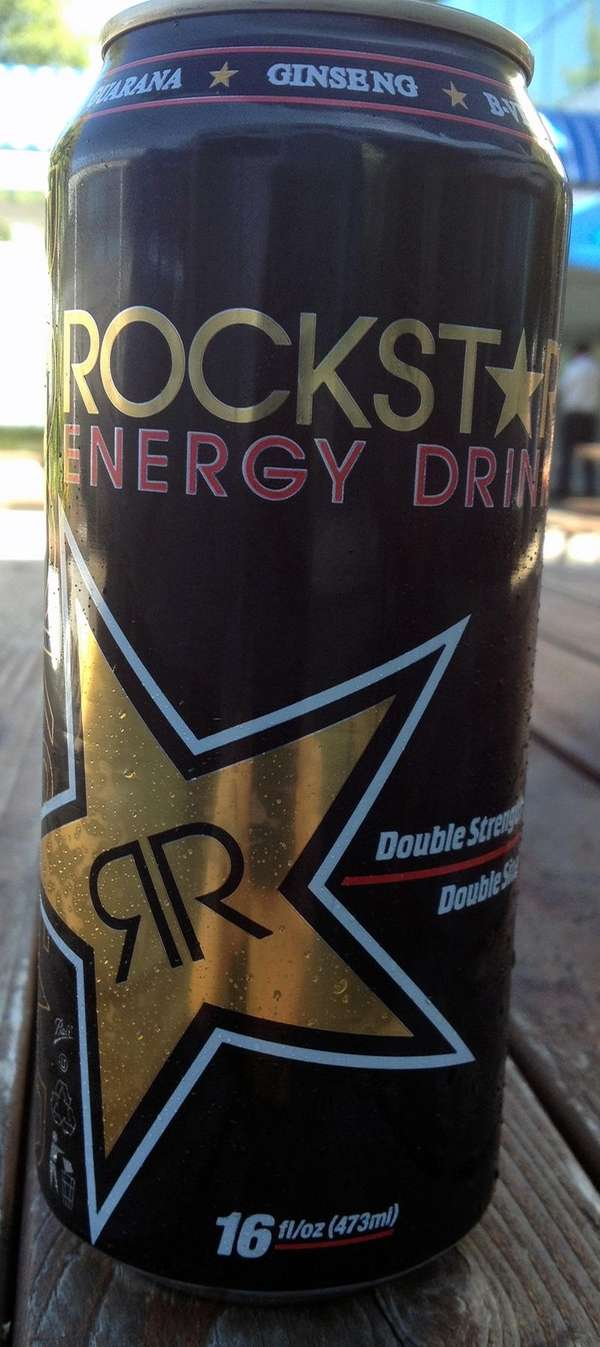 ROCKSTAR ENERGY DRINK Claim: quot;Enhanced with the potent