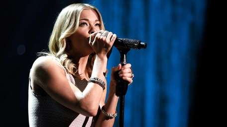 LeAnn Rimes performs at the American Giving Awards