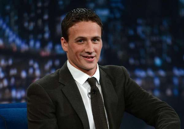 "Ryan Lochte visits ""Late Night with Jimmy Fallon."""