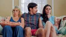 From left, Ari Graynor, Justin Long and Lauren