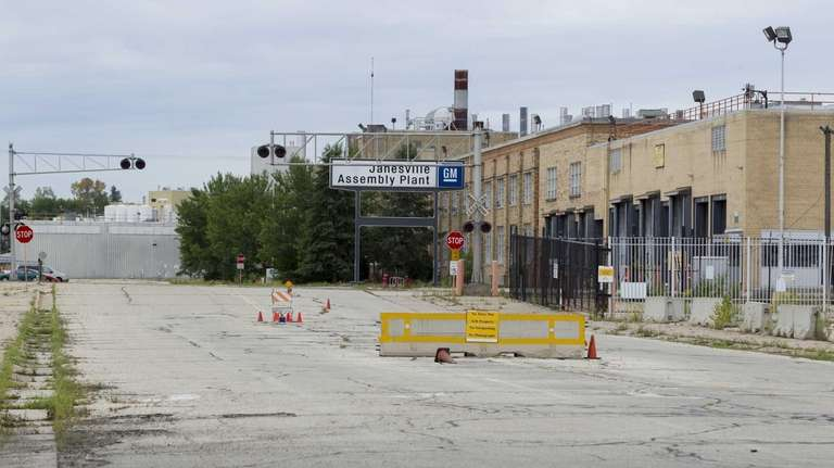 The General Motors auto assembly plant in Janesville,