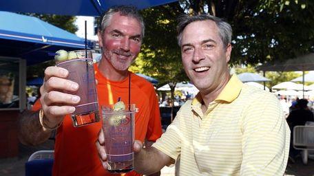 Dan Loughran and Matt Kubat, both from Omaha