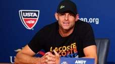 Andy Roddick announcing his retirement during Day Four