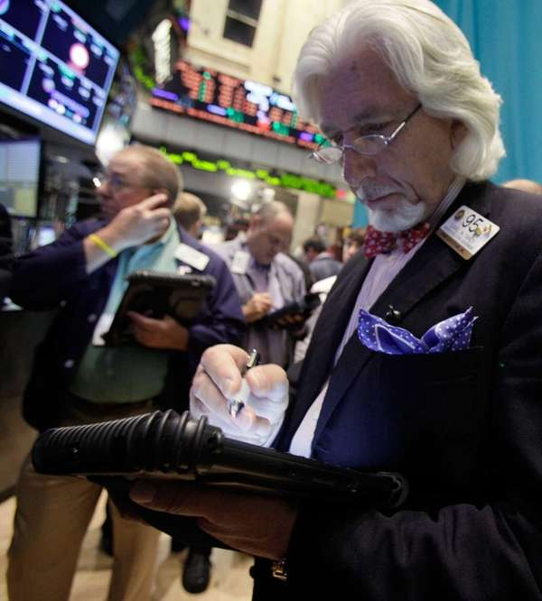 Stocks fell on Thursday, with investors too worried
