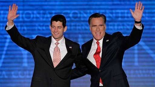 Republican vice presidential nominee, Rep. Paul Ryan and