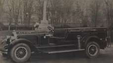 Walter P. Chrysler donated this fire truck to