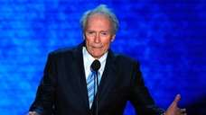 Actor Clint Eastwood speaks during the 2012 Republican