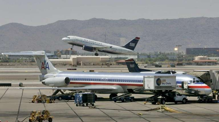 If American Airlines and US Airways merge, it