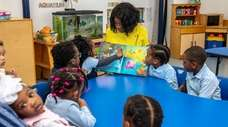 Uniondale Early Childhood Center's director Mary Cameron shares