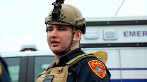 Tyler Alvarez, son of NYPD officer Luis Alvarez,