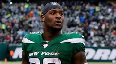 Le'Veon Bell of the New York Jets against