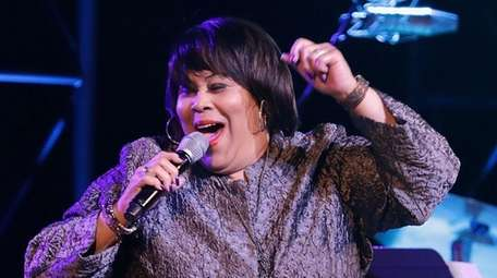 Martha Wash performs during the Concert for America: