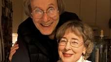 Christoph and Susanne Blumrich, seen here in November,
