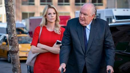 Charlize Theron as Megyn Kelly and John Lithgow