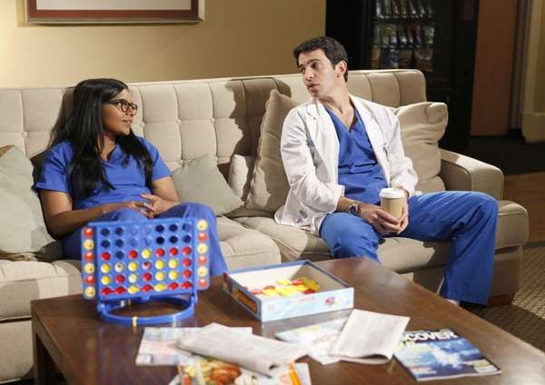 This image released by Fox shows Mindy Kaling,