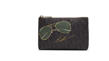 Michael Kors is hardly ever without his signature