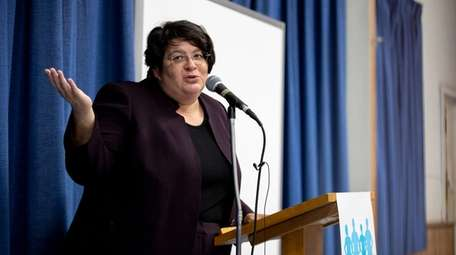 Michelle Caldera-Kopf, managing attorney of Safe Passage Project,
