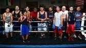 The fighters from the Westbury Gym