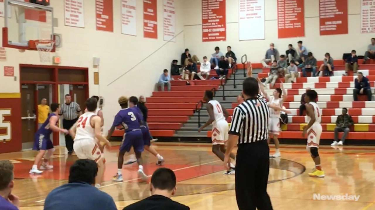 Half Hollow Hills West defeated Islip, 56-49, in