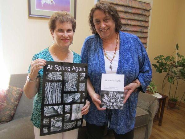 Doris Diamond, 65, and Liz Casey, 63, show
