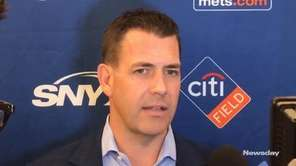 Mets general manager Brodie Van Wagenen met the
