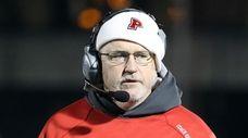 Plainedge football head coach Rob Shaver before a