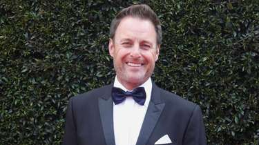 Chris Harrison arrives at the 45th annual Daytime