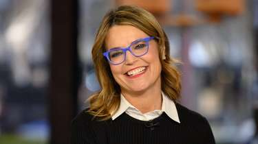 "Savannah Guthrie on NBC's ""Today"" on"