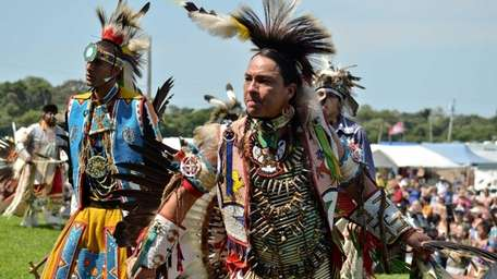 Dancers performed from dozens of Native American tribes,
