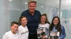 Chef, author and TV personality Gordon Ramsay with