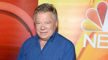 William Shatner attends the NBCUniversal media event during