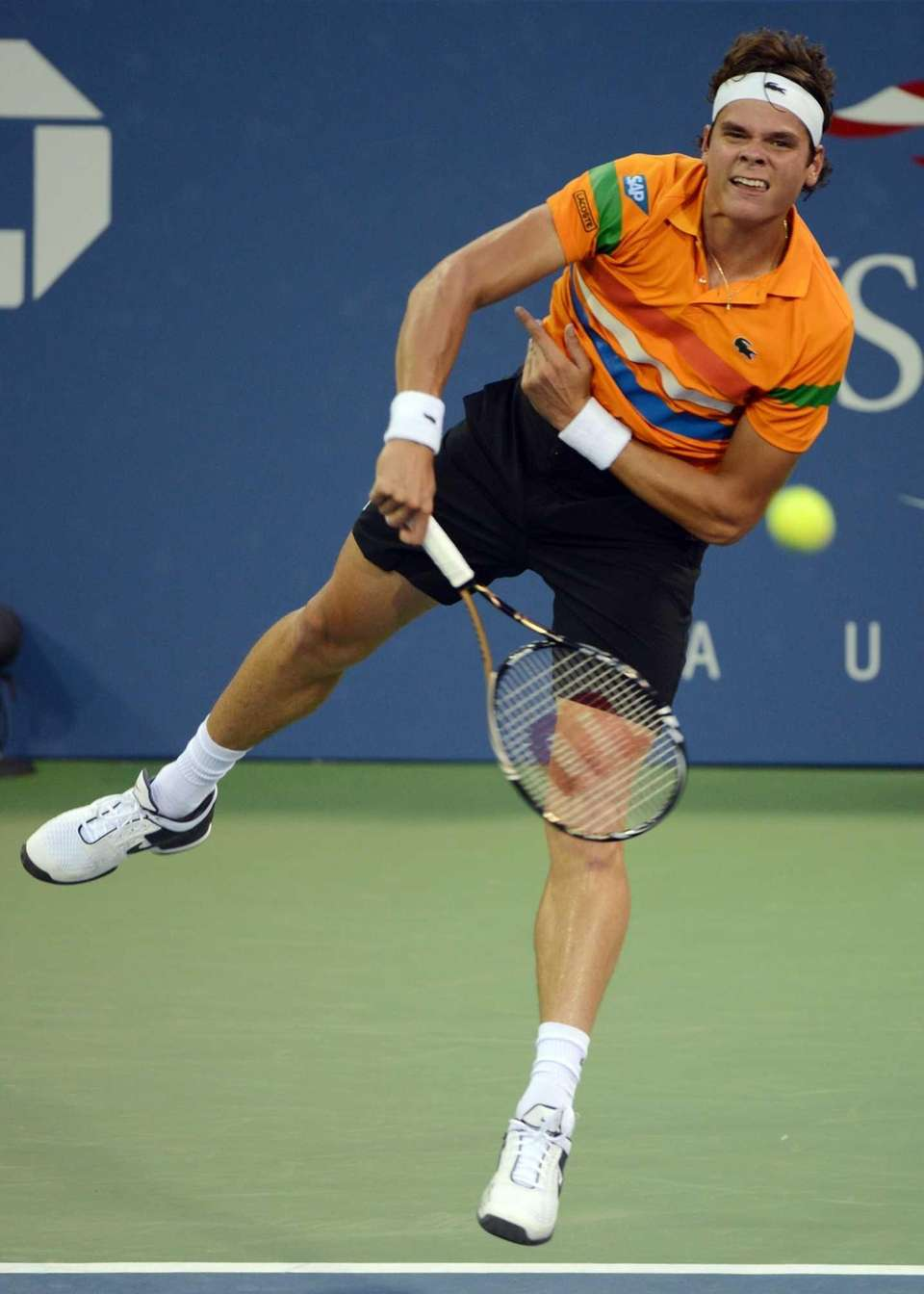 MILAS RAONIC, 22, CANADA Ranked: 15, 2013 Match