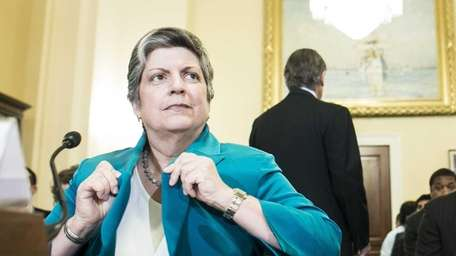 Janet Napolitano, the Homeland Security Secretary, testifies before