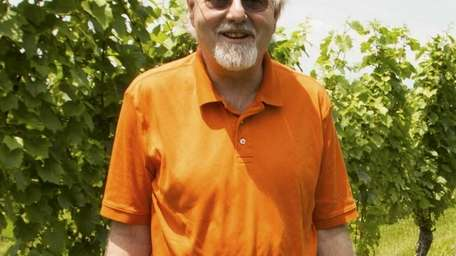Larry Perrine, chief executive of Channing Daughters Winery,